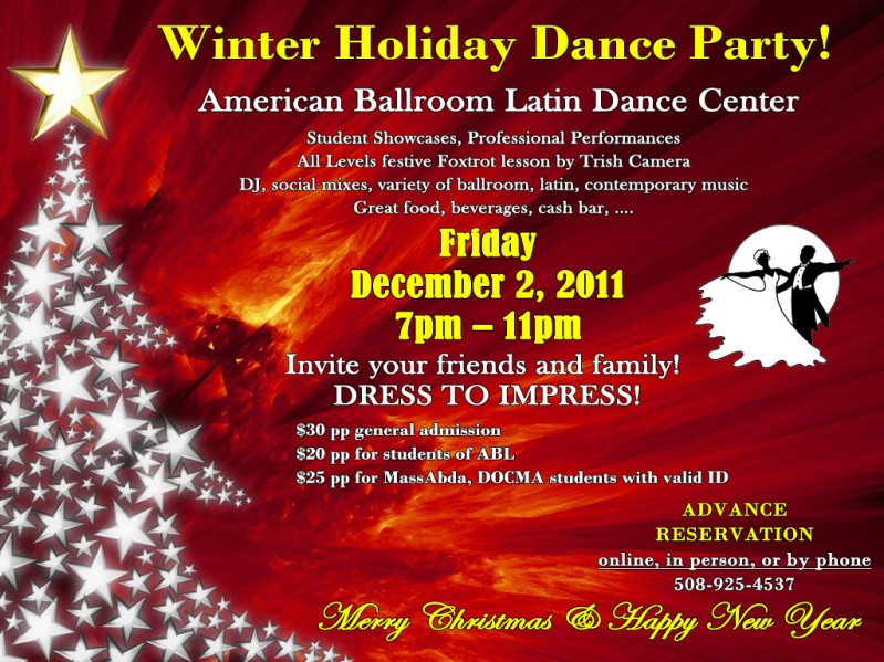 Winter Holiday Dance Party